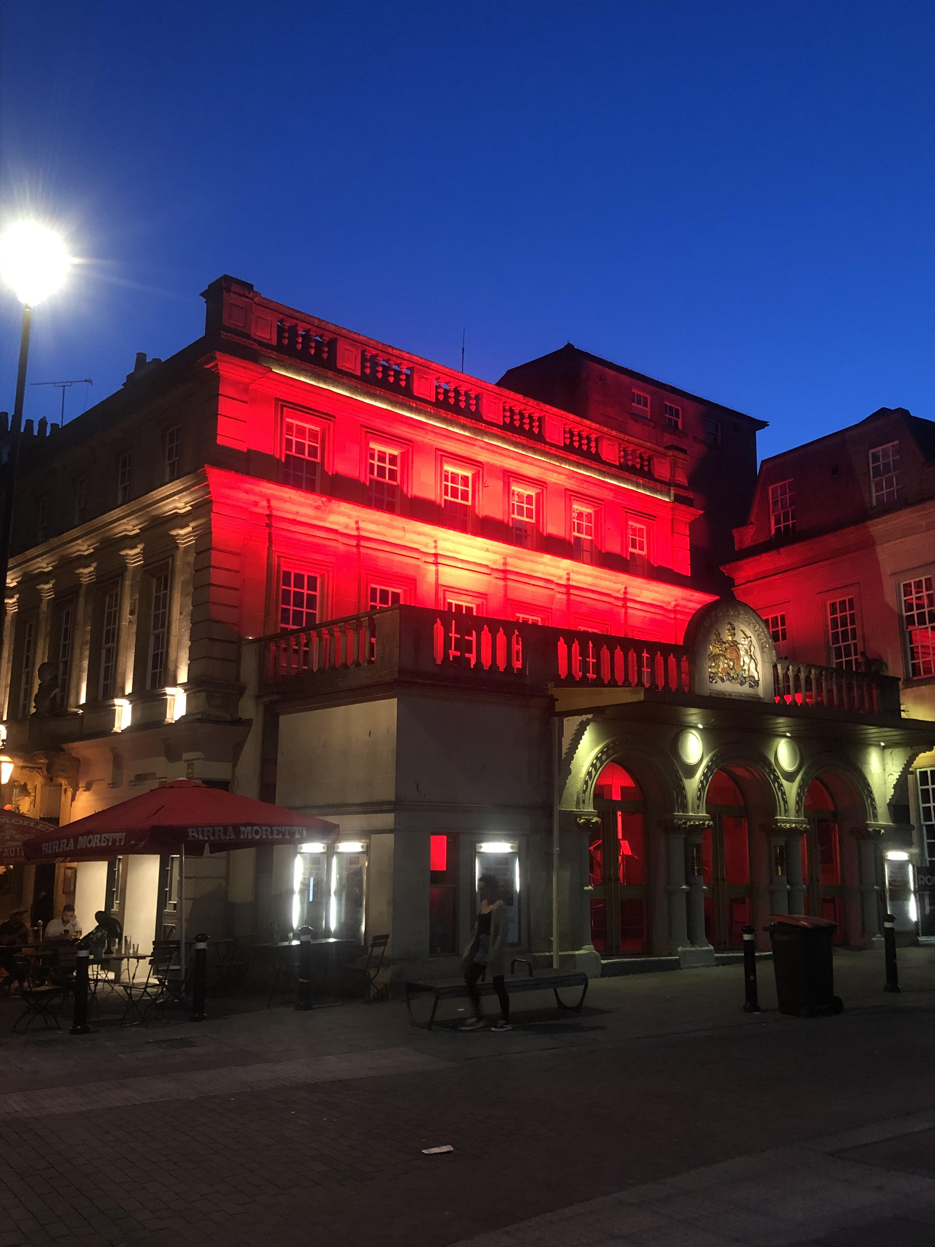 Theatre Royal Bath  - Light it in Red